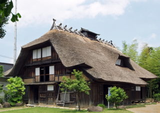 This is a former Shibuya-ke House from 1822. Image by wakiiii.