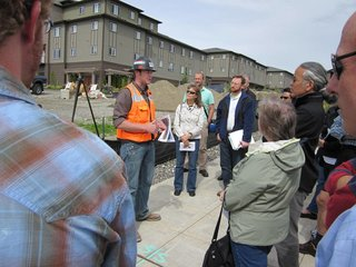 Our extensive on-site education program included monthly construction walk-throughs.