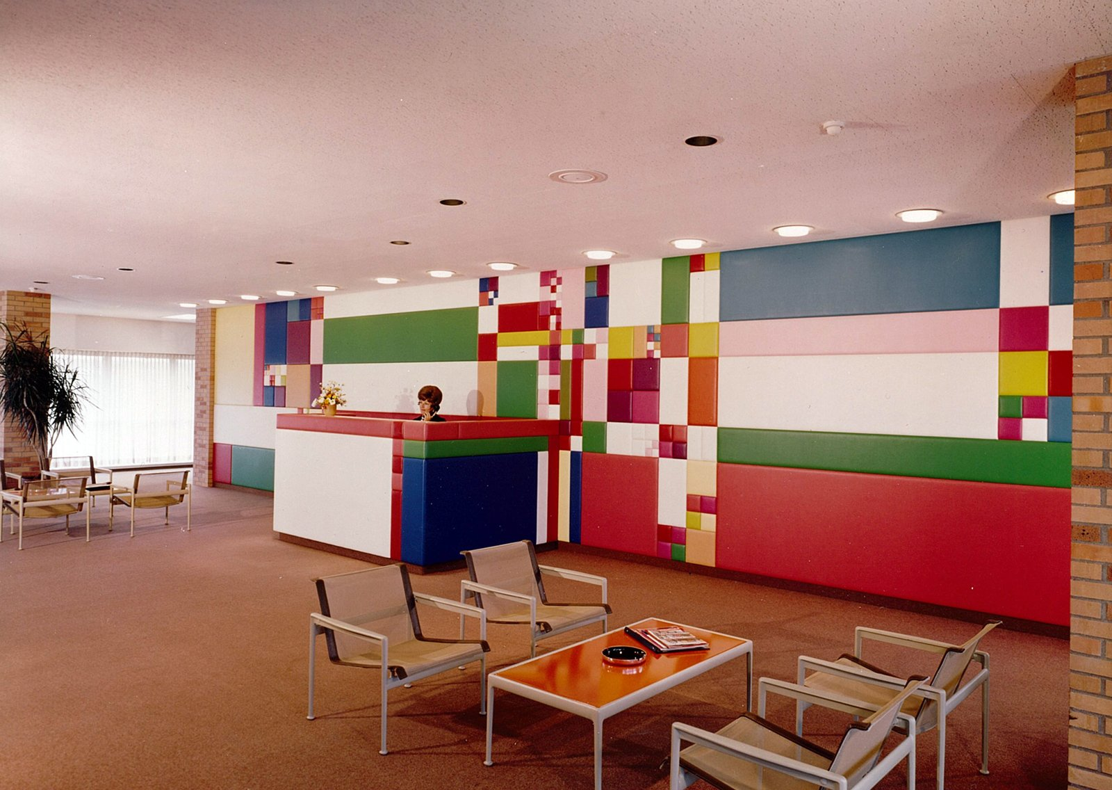 A playful interior of the Midland HQ for Dow Chemical.  Photo 20 of 28 in Hometown Hero