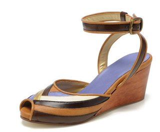 These wedges by  Form & Fauna are made right here in the U.S.A. from eco-minded materials.