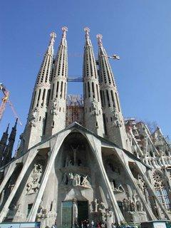 Gaudi's Sagrada Familia.