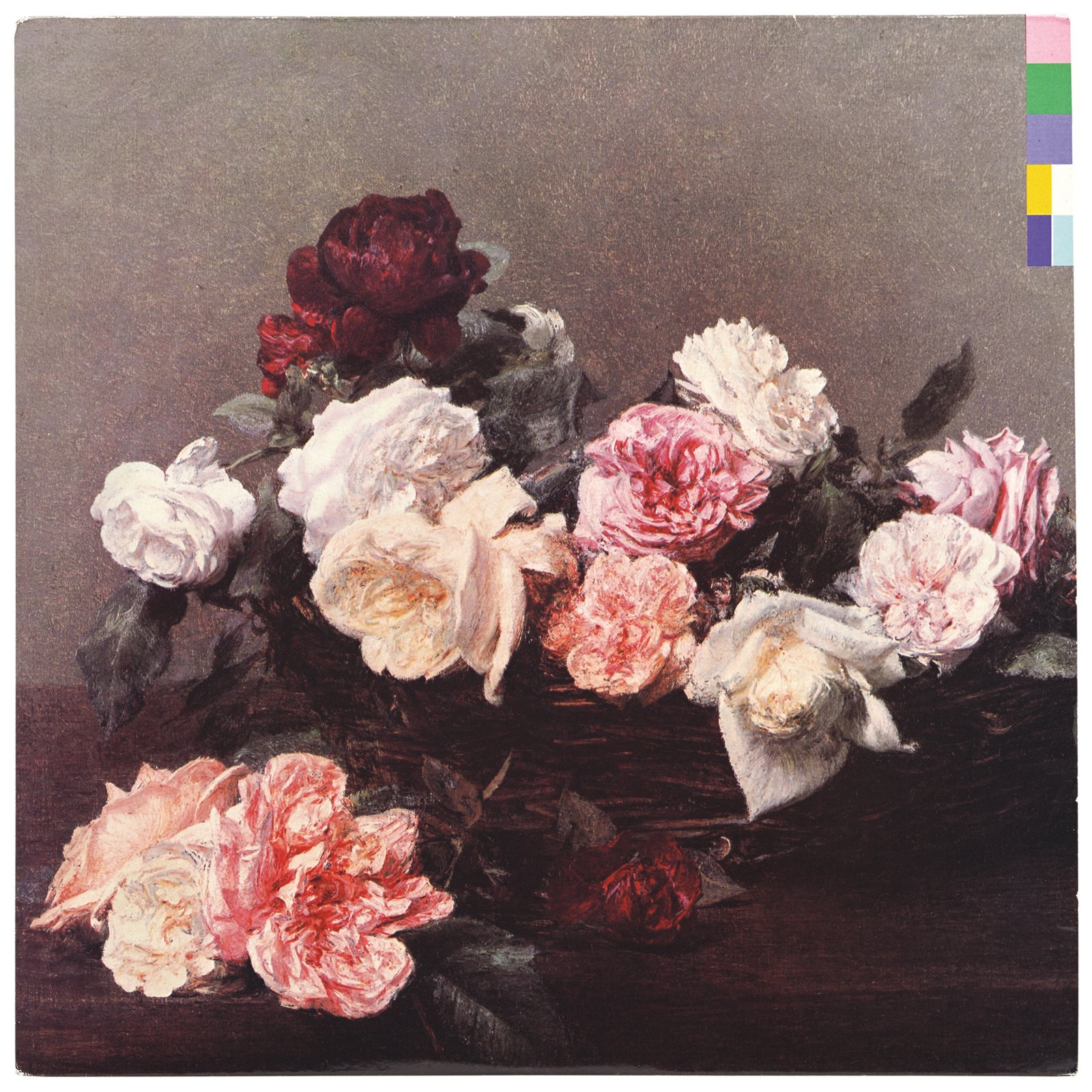 "Peter Saville, ""Power, Corruption & Lies"" album cover for New Order, 1983. © Peter Saville  Photo 3 of 12 in ""Postmodernism"" at the V&A Museum"