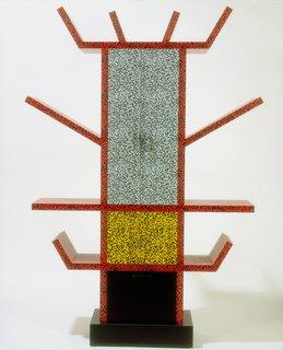 Ettore Sorrsass (for Memphis), Casablanca sideboard, 1981. Plastic laminate over fibreboard. © V&A Images