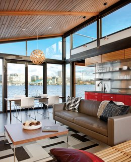 A Renovated Boathouse on Seattle's Portage Bay - Photo 1 of 2 -