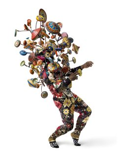 Artspace Soundsuit #1, by Nick Cave, one of Levene's favorite pieces currently available on the site.