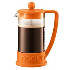 Bodum Bean French Press in orange, $29.99.