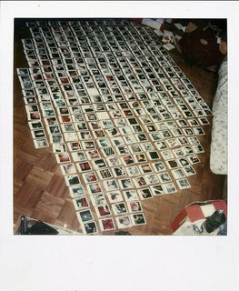 This photograph was taken by Jamie Livingston on March 30th, 1980, as part of his Polaroid documentary of his life.