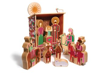 A Pair of Modern Nativity Scenes - Photo 1 of 2 -