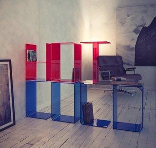 The Anita shelf as seen on The Blog on the Bookshelf.