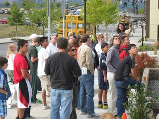 A Zero-Energy Community: Part 8 - Photo 7 of 7 - Our tours were oriented around a terrific set of signs—thirty in all.