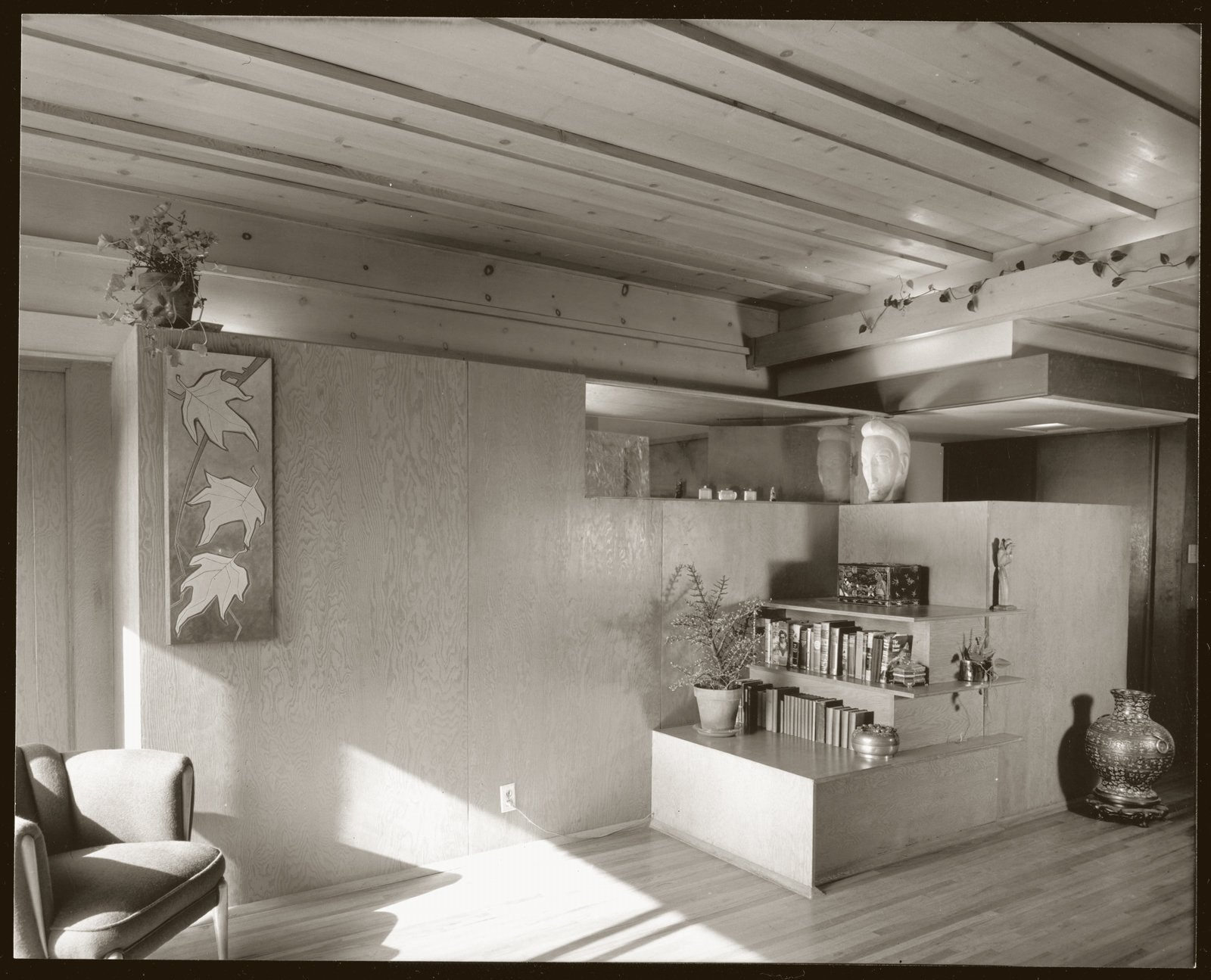 The famed architectural photographer Julius Shulman photographed the apartments in 1945.  Photo 9 of 10 in The Restored Rudolph Schindler Project That Was Inspired by a Greek Village