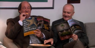 Dwell's Cameo on The Office - Photo 1 of 1 -