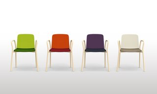 Two Tone chair by Ichiro Iwasaki for Discipline.