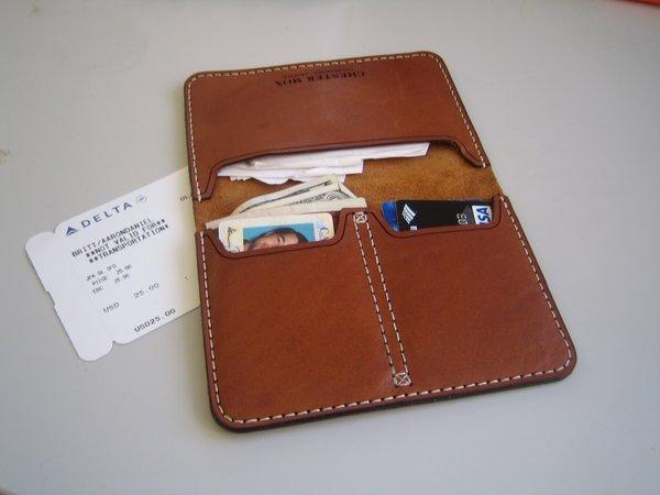 Chester Mox Passport Wallet