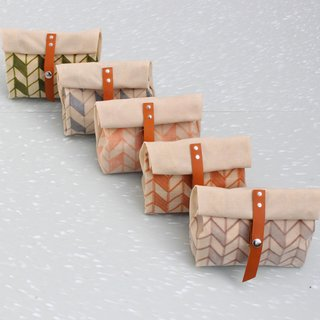 Friday Finds 04.06.12 - Photo 4 of 5 - Amber Jensen's waxed canvas pencil case.
