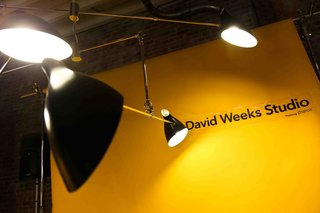 Perhaps the most iconic of David Weeks designs, the Hanging Mobile is custom-crafted to client specifications. With a minimum of two tiers, the Hanging Mobile can extend both horizontally and vertically, as far as the space will allow. Tiers balance effortlessly on an asymmetrical axis to allow gentle movement.