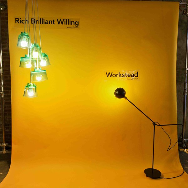 Rich Brilliant Willing and Workstead both displayed unique works utilizing the Pharox 400xl bulbs. LEDs are often thought of as tinted and harsh, but the combination of the Bright Side Lights and the Workstead floor lamp with the Pharox dimmable bulbs showed a softer side of LEDS.
