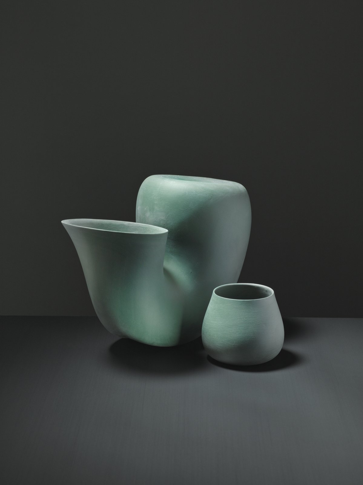 """When working in the studio, Bakker says,   """"I always need to speak my idea out loud. Speaking and sketching at the same time help me to explain the idea. Then I do   all the technical drawings myself because   they drag me out of the illusion that   I am almost there.""""  Photo 4 of 9 in New Dutch Design: Aldo Bakker"""
