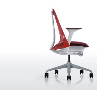 The SAYL chair by designer Yves Behar premiered in 2010.