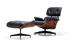 The Eames Lounge and Ottoman is another timeless icon of mid-century design, held in the design collections of the MOMA in New York and the Art Institute of Chicago.