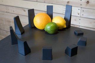 """Henge,"" a deconstructed fruit bowl."