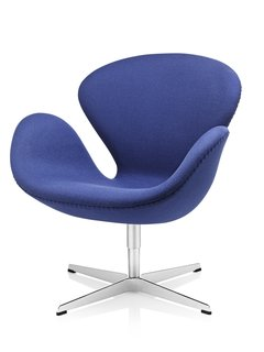 Another Fritz Hansen-Arne Jacobsen greatest hit: the Swan chair from 1958. Those produced by the manufacturer today come with a unique serial number and a tag with an invisible thread in it to validate its authenticity.