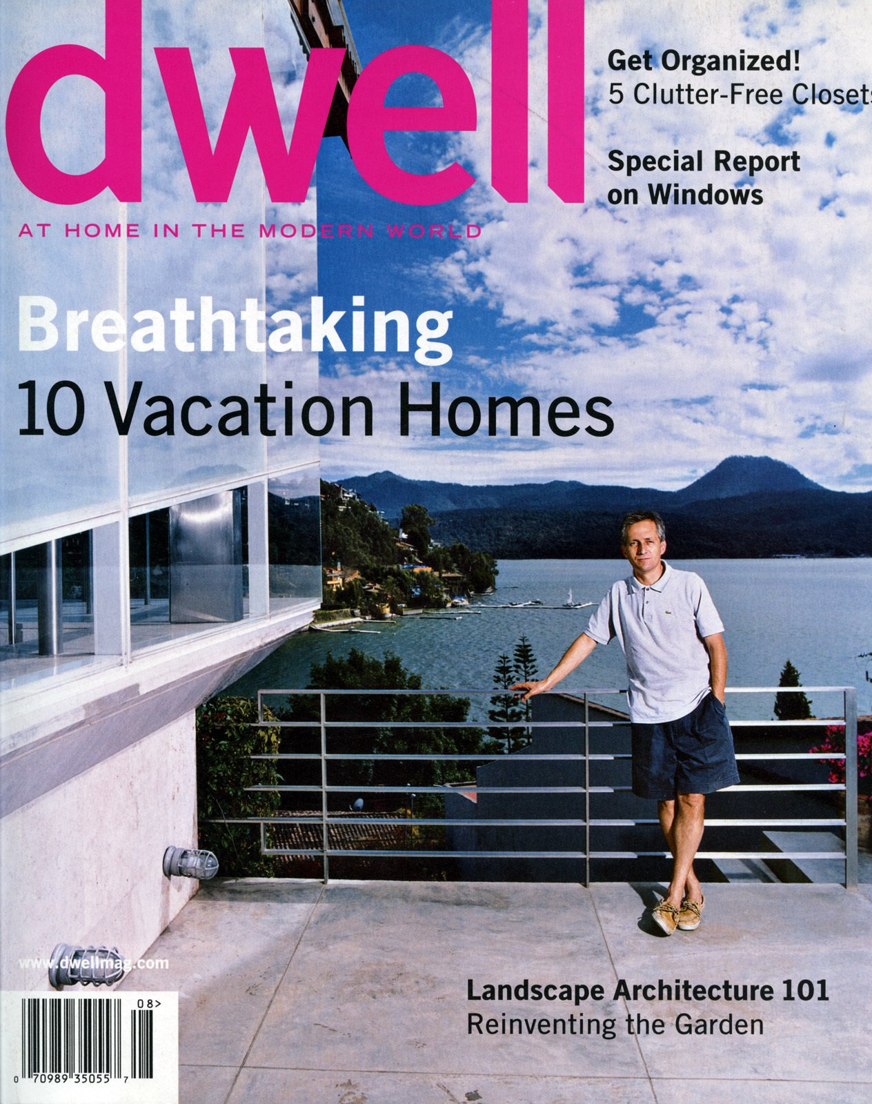 Dwell July/August 2004, Vol. 04 Issue 07: Breathtaking by Dwell