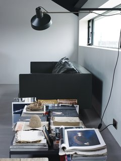 Leen's reading area.