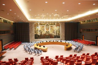 A Look Inside the United Nations' Restored Security Council Chamber - Photo 1 of 7 -