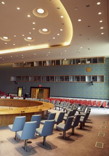 A Look Inside the United Nations' Restored Security Council Chamber - Photo 5 of 7 -