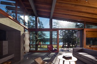 An Off-the-Grid Island Home for a Seattle Music Producer - Photo 11 of 16 -