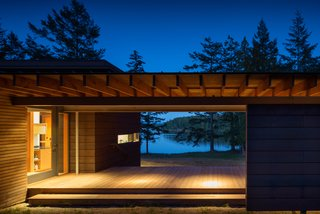 An Off-the-Grid Island Home for a Seattle Music Producer - Photo 12 of 16 -