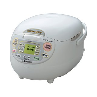 What is your go-to kitchen appliance?<br><br>I also love my Japanese rice cooker.<br><br>Neuro Fuzzy rice cooker and warmer from Zojirushi, from $256.