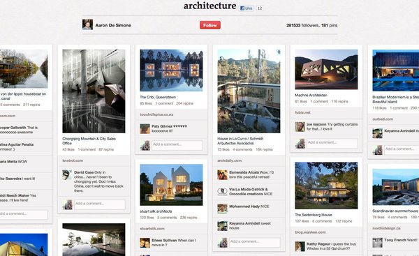 Top Design Boards on Pinterest