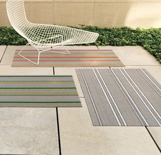 Sandy Chilewich - Photo 1 of 5 - Electric Stripe Utility mats by Chilewich ($45) shophorne.com.
