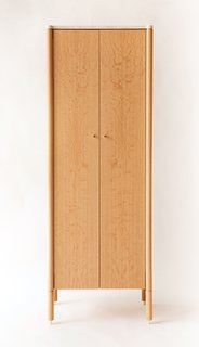 New Furniture from Egg Collective - Photo 10 of 12 - The Tall Morrison cabinet ($7,200) in white oak.