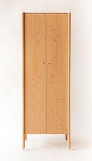 The Tall Morrison cabinet ($7,200) in white oak.