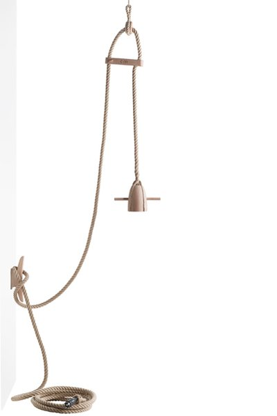Flax is a collection of products Meindertsma designed for Thomas Eyck. The lamp is shown here.