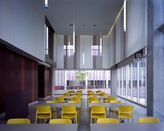 The common area. Photo by Chris Mueller.