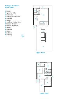 The floor plan.