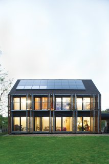 The Passive House in France shot for our September 2012 issue.