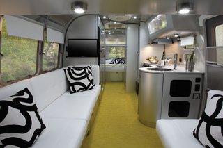 Architect Christopher C. Deam designed Airstream's travel trailer, the International Sterling.