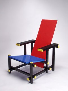 A riff on the famous Rietveld chair, Studio Minale Maeda's Red Blue Lego Chair—which leans toward the conceptual end of the Talents spectrum—was designed in 2007 and exhibited at Ambiente the same year.