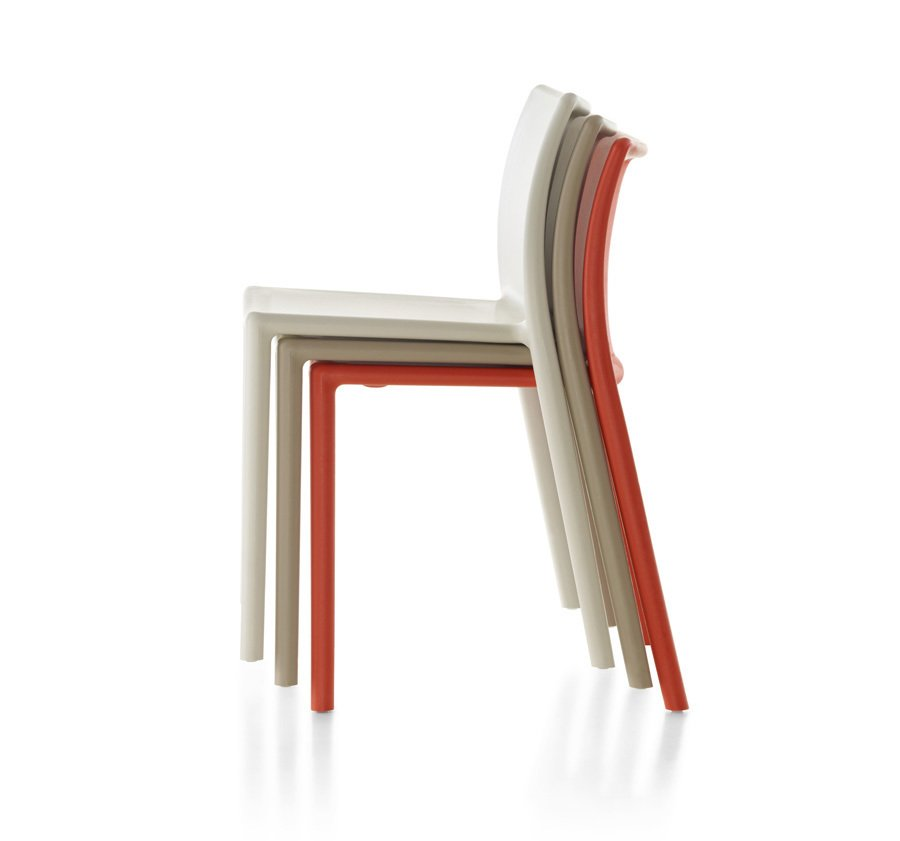 Alexandra Lange: In a few cases, I think the designer is right but not the piece: why Jasper Morrison's Monopod chair and not the much cheaper Air Chair [for Magis, actually from 1999], an excellent example of the supernormal idea?  Photo 6 of 12 in Future Classics, Circa 2050?