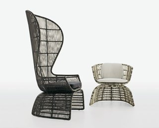 """Erika Heet: """"I think the Crinoline chair by Patricia Urquiola [B&B Italia, 2008] will always stand as an exemplification of good design from the aughts. It's ubiquitous, yes, but immediately reminds one of an explosion of strength, elegance, and diversity within design that is a hallmark of modernism today."""