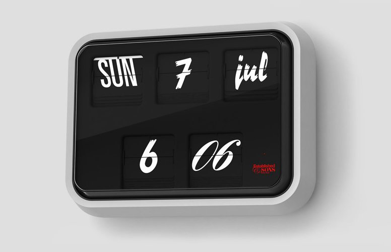 Sebastian Wrong's font clock for Established & Sons symbolizes to a tee the era of design since 2000. We're living in an internet age in which typography has become a part of pop culture no longer relevated to kerning-happy designers. The Font Clock isn't terribly expensive, and it's quirky yet massively appealing.  Photo 12 of 12 in Future Classics, Circa 2050?