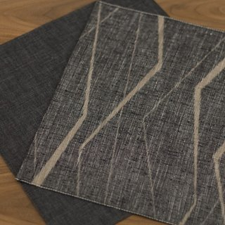 Reversible silk-and-linen placemat from Cloth and Goods ($50).