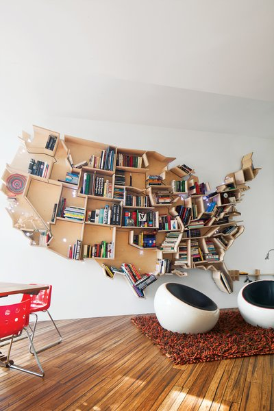 An American Bookshelf in London