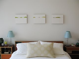 Decor in the master bedroom.