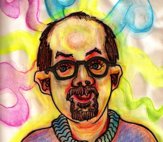 Portrait by Bryan Lewis Saunders.